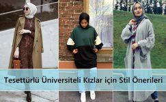 Tesettürlü Üniversiteli Kızlar için Stil Önerileri