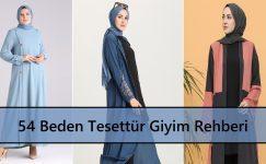 54 Beden Tesettür Giyim Rehberi