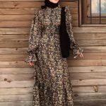 Betül Yıldırım Çiçekli Elbise Modeli