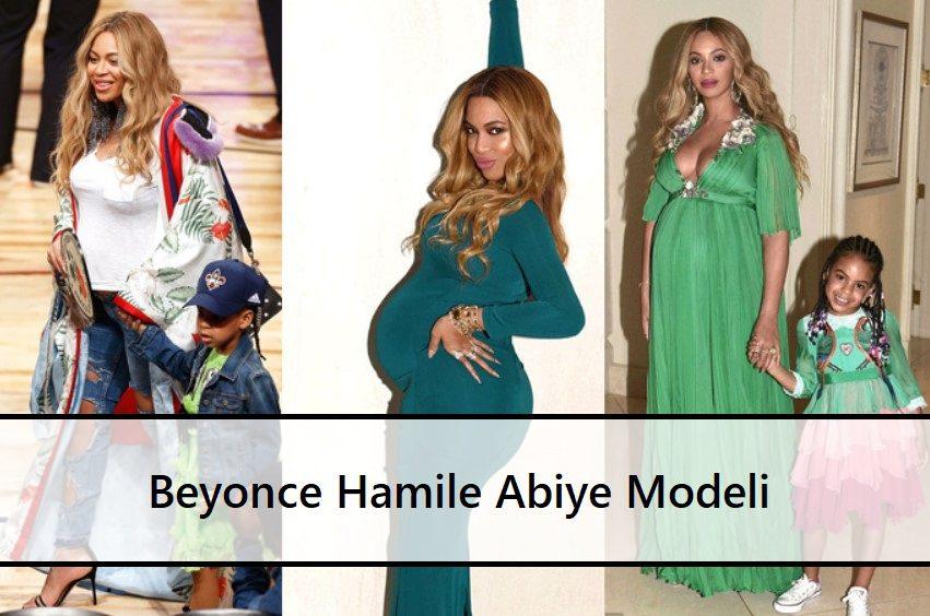 Beyonce Hamile Abiye Modeli