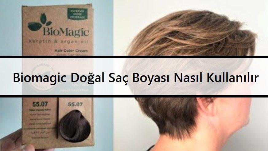 Biomagic Doğal Saç Boyası Nasıl Kullanılır