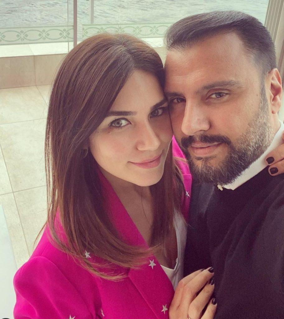 Buse Varol ve eşi Alişan