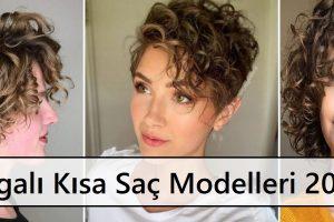 Dalgalı Kısa Saç Modelleri 2021