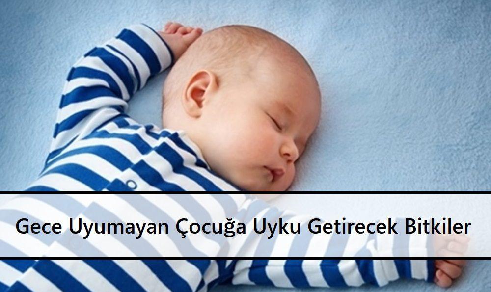 Gece Uyumayan Çocuğa Uyku Getirecek Bitkiler