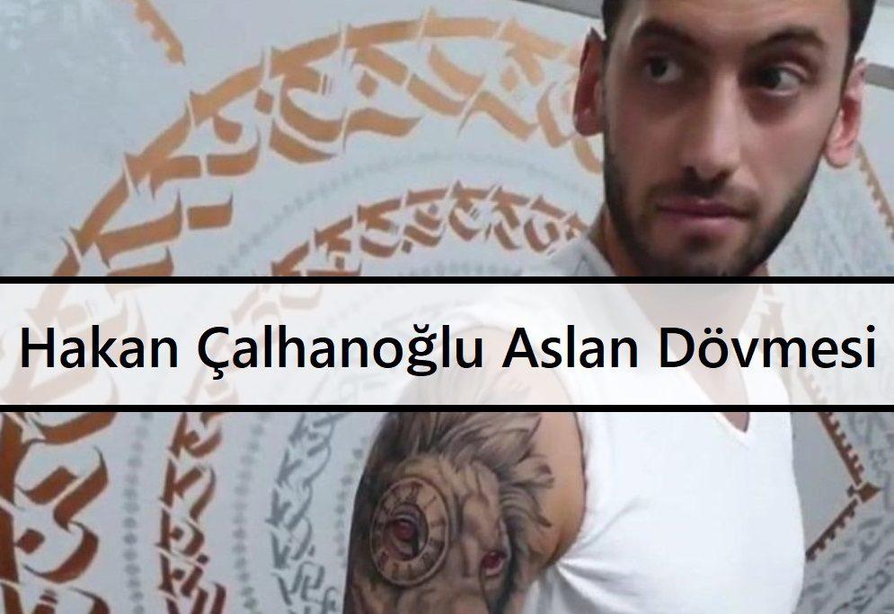 Hakan Çalhanoğlu Aslan Dövmesi b