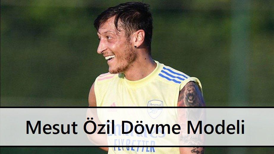 Mesut Özil Dövme Modeli