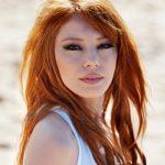 Meyra Kızıl Uzun Saç Modeli