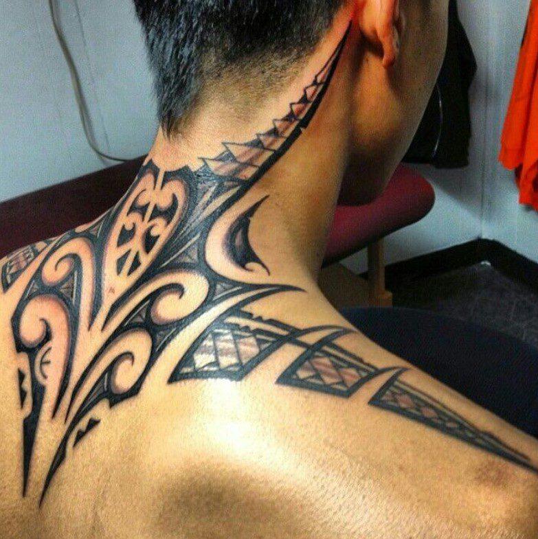 Omuz Tribal Dövme Modeli