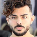 Üstler Dalgalı Yanlar Sıfır Erkek Saç Kesimi