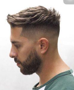 Üstler Kısa Yanlar Sıfır Erkek Saç Modeli