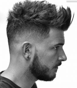 Üstler Uzun Yanlar Kısa Erkek Saç Modeli