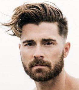 Üstleri Uzun Yanları Çok Kısa Erkek Saç Modeli