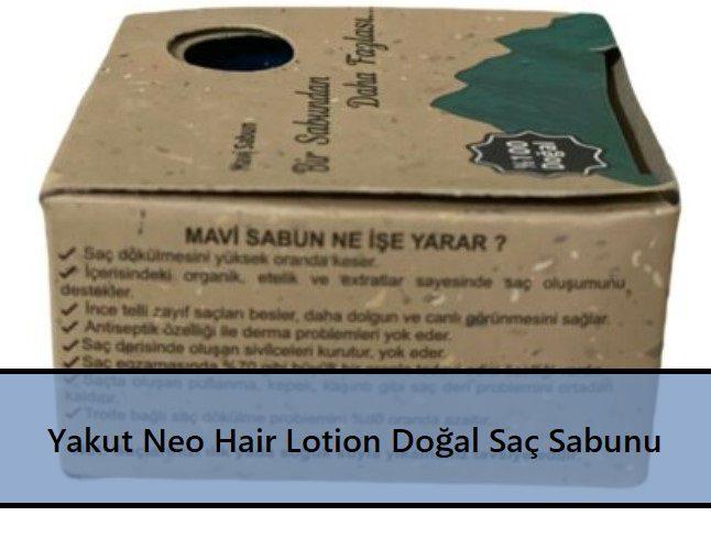 Yakut Neo Hair Lotion Doğal Saç Sabunu