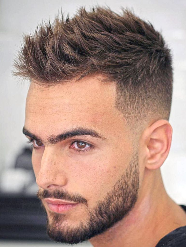 Yanlar Sıfır Numara Üstler Uzun Erkek Saçı