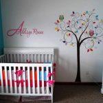 Açık Mavi Beyaz Bebek Odası Tasarımı