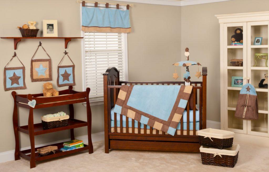 Ahşap Dekorasyon Bebek Odası Tasarımı