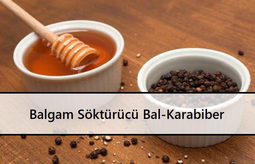 Balgam Söktürücü Bal-Karabiber