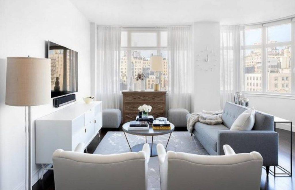 Beyaz Mobilya Oda Dekorasyonu