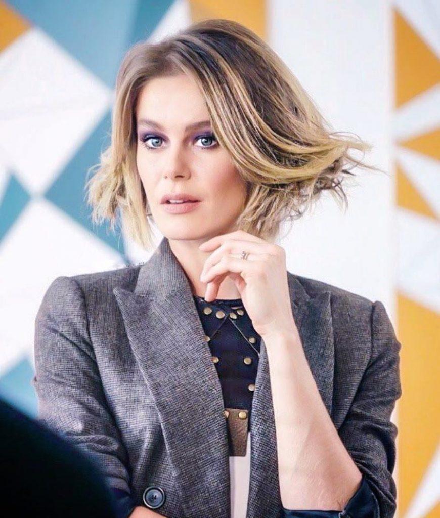 Burcu Biricik Balyaj Saç Modeli
