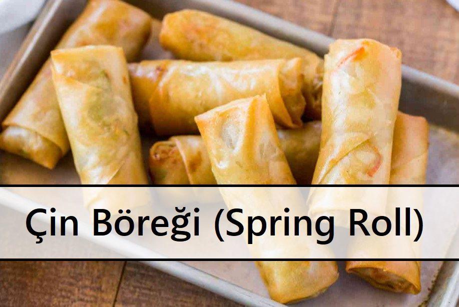 Çin Böreği (Spring Roll)