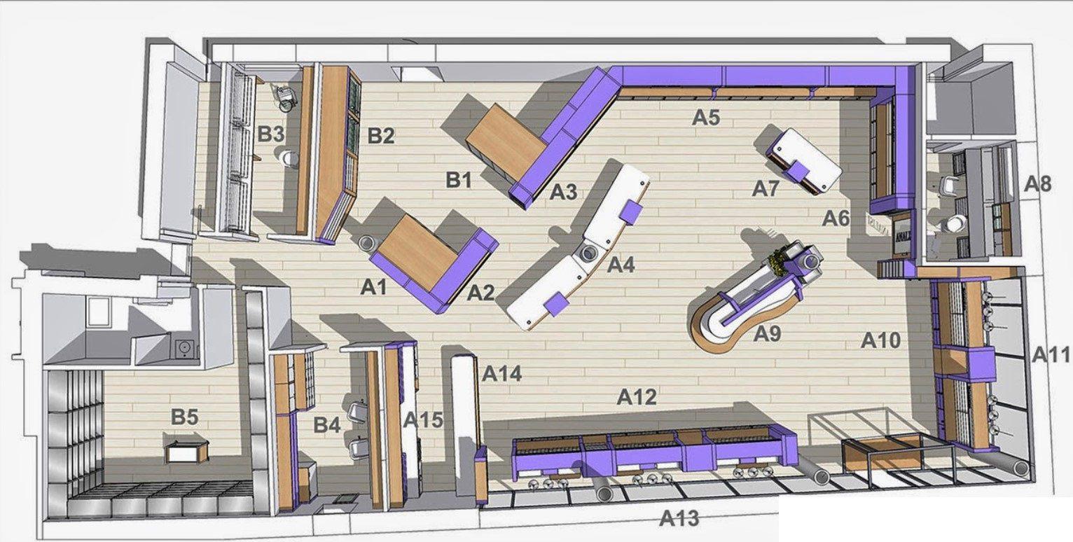 Eczane Tasarımı Plan Şekli