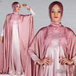 Fatma Sevildi İşlemeli Tesettür Abiye Modeli