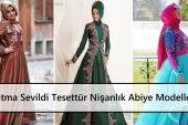 Fatma Sevildi Tesettür Nişanlık Abiye Modelleri