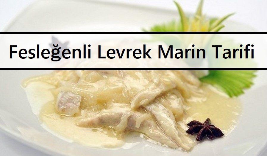 Fesleğenli Levrek Marin Tarifi