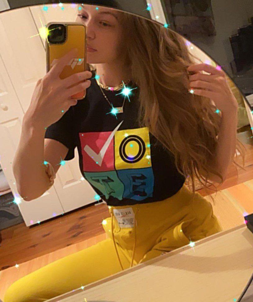 Gigi Hadid Bal Rengi Saç