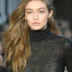 Gigi Hadid Uzun Boyalı Saç Modeli