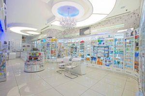Kozmetik Sağlık Ürünleri Eczane Tasarımı