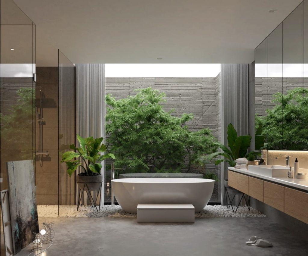 Lüks Tasarım Banyo Modeli