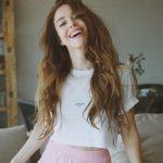 Özge Gürel Açık Kestane Rengi Saç Modeli