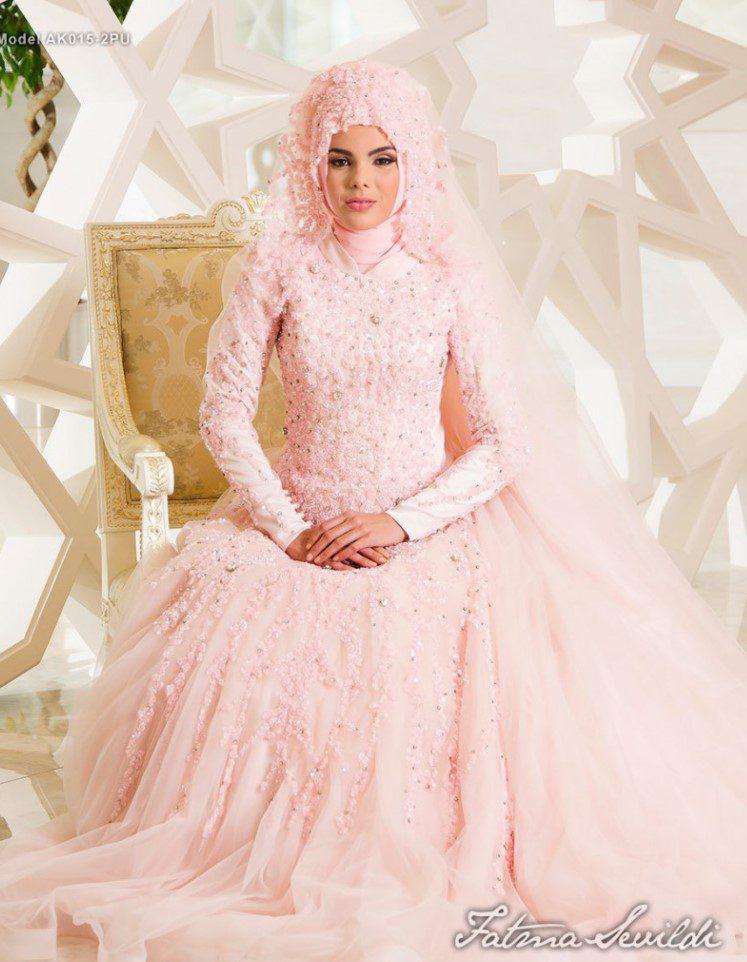 Pembe Fatma Sevildi Nişanlık Abiye
