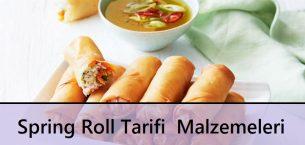 Spring Roll Tarifi | Malzemeleri