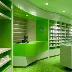 Yeşil Eczane Dekorasyon Modeli