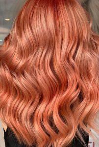 Açık Terrakota Saç Rengi