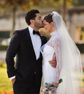 Ebru Şallı Düğün Fotoğrafı
