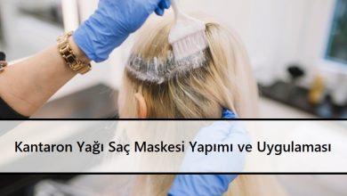 Kantaron Yağı Saç Maskesi Yapımı ve Uygulaması