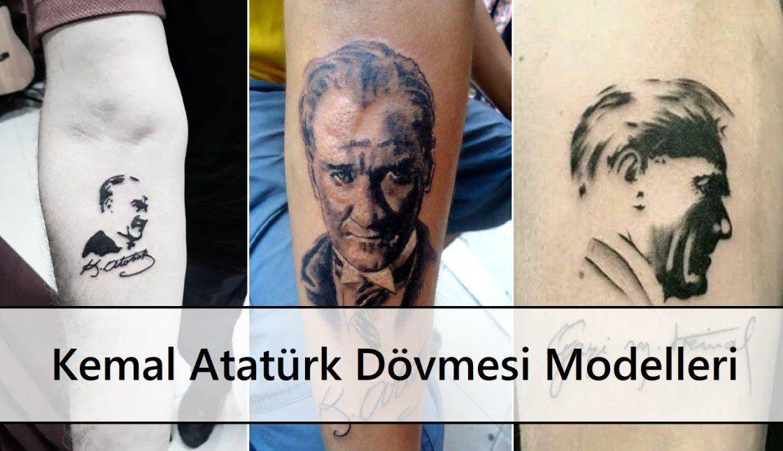 Minimalist Kemal Atatürk Dövmesi ana