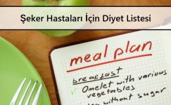Şeker Hastaları İçin Diyet Listesi Önerileri