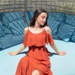 Semiraminta Kırmızı Yazlık Elbise