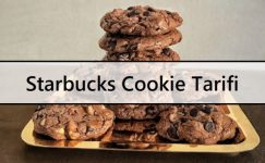 Starbucks Cookie Tarifi