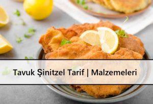 Tavuk Şinitzel Tarif Malzemeleri ve Yapım Aşamaları