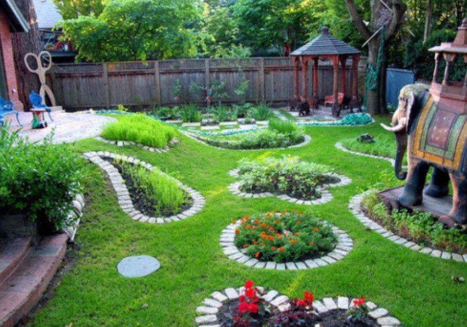 Ahşap Bahçe Dekorasyon Düzeni