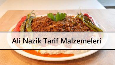 Ali Nazik Tarif Malzemeleri ve Yapım Aşamaları
