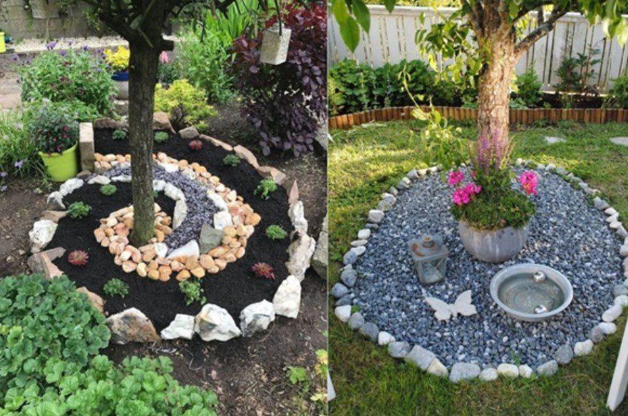 Bahçe Taş Dekorasyonu