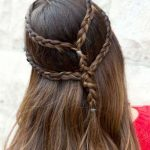 Kız Çocuğu Okul Saç Modeli