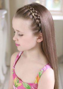 Örgü Saç Çocuk Modeli