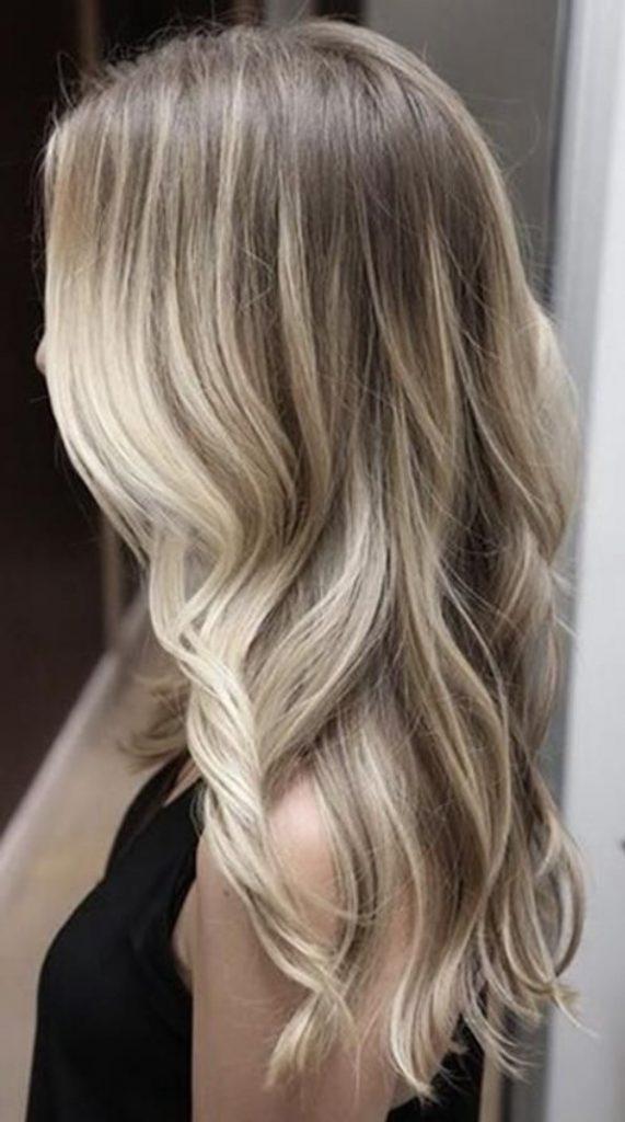 Açık Kum Beji Saçlar